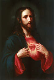 sacred heart of Jesus Jose Maria Ibarran